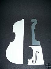 4/4 violin opaque mylar Guarneri Templates complete VWWS USA