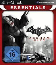 Batman: Arkham City -- Essentials (Sony PlayStation 3, 2013, DVD-Box)
