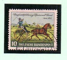 Alemania Federal Coches de Caballos año 1952 (AW-626)