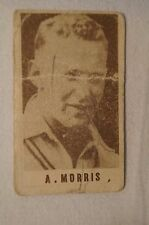1940's Vintage G.J.Coles Cricket Card -  Arthur Morris - New South Wales