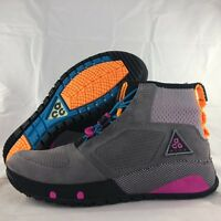Nike ACG Ruckel Ridge Gunsmoke Grey Purple Orange Black AQ9333-001 Men's 7-13
