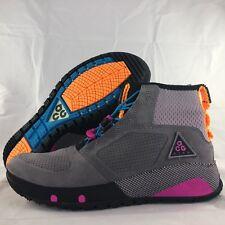 Nike ACG Ruckel Ridge Gunsmoke Grey Purple Orange Black AQ9333-001 Men's 7-13