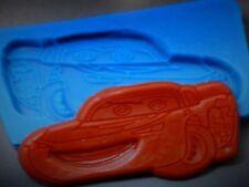 Steve Mcqueen Auto Deportivo De Silicona Molde Pastel Decoración Glaseado Sugarcraft Jabón