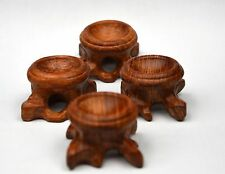 INNER diameter Rosewood Stand for Sphere&Egg  4pcs