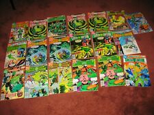 Lot of (19) GREEN LANTERN & GREEN ARROW DC comic books (#s 115-154) cgc no