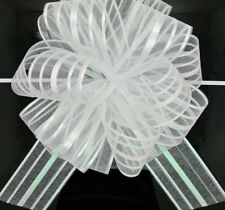Pull Bows Ribbon Crafts Large Organza Wedding Decors Gift Packing 50mm 5pcs/lots