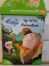 Leapfrog Tag Activity Storybook: Disney Pixar UP -Up With Adventure- Book Only