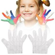 100PCS/Set Kids PE Disposable Polythene Restaurant Food Grade Protective Gloves