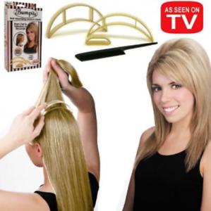 5 Pcs Bumpits Big Happie Hair Volumizing Inserts , BLONDE.