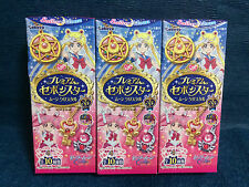 3 x Sailor Moon Sebon Star - Moon Prism / Crystal Pendant - From Kabaya in Japan