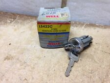 WELLS  LS422C  Ignition Lock & Keys for 79-91 Ford  Lincoln  Mercury