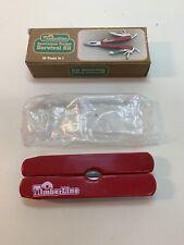 Vintage Timberline Pocket Folding Multi Tool Knife, Sportsman Survival Kit