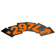 """PitKing Products Individual Numbers / Symbols / Digits For 7"""" Large Pit Board"""