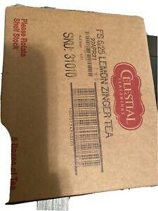 Celestial Seasonings Herbal Tea, Lemon Zinger, 25 Count Box Of 6 22APRIL21