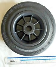 SFD Rubber Wheel - Black, 200mm