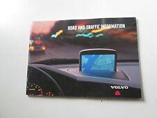 Manuale navigatore Volvo RTI Edizione 2001   [3300.14]