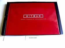 HITMAN ART BOOK Hardcover LE (~60 pages) Xbox 360 / PS3 / Xbox One / PS4 --*NEW*