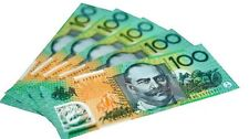 1/6 Scale Miniature Play Money Australian Banknotes $100 (288 banknotes)