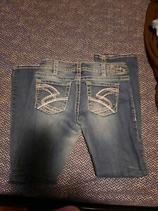 Silver Jeans 2 Pair 30/32 30/33