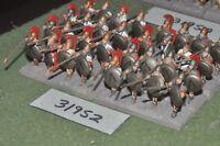 25mm classical / greek - hoplites 32 figures - inf (31952)