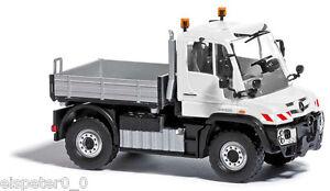 Busch 50916,MB Unimog U430 » Emerency Vehicle«,White,H0 Car Vehicle Model 1:87