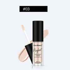 3 Colors Makeup Highlighter Liquid Cosmetic Lady Face Contour Brightener Shimmer 3#
