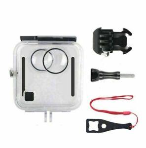 45M Unterwasser Case Cover Schutz Hülle Shell Für GoPro Fusion 360-Degree Kamera