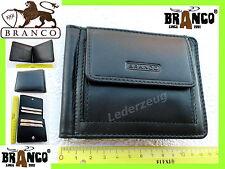 Herren Geldbörse Portemonnaie Branco Leder Scheckheft Geldbeutel Börse NEU ---