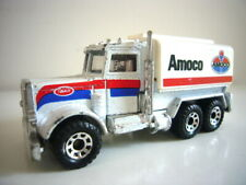 Matchbox: Peterbilt Amoco petrol tanker, Convoy-style, excellent, made in Macau