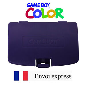 Cache pile Violet / Purple Game Boy Color neuf [ Battery GAMEBOY cover GBC ]