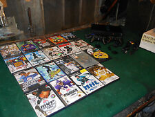 Play Station 2 Lot System 2 controllers 23 Games Adapters memory card Dance