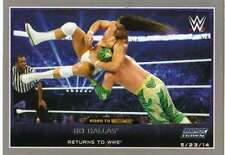 2015 Topps WWE Road to Wrestlemania Silver #18 Bo Dallas Returns to WWE