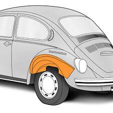 1968-1979 Volkswagen Beetle, Super Beetle Rear Inner Left Hand Wheelhouse 300069