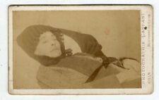 Photo Albuminé Oran Algérie Par Gaspari Post Mortem Cdv Vers 1880