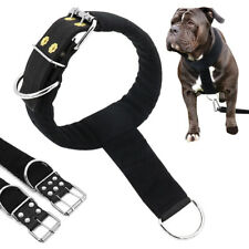 Dog Head Collar Soft Padded Dog Pulling Collar for K9 Pitbull Training Working