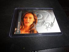 KIM RAVER RARE 24 Autograph Audrey Raines Auto Grey's Anatomy Bones Revolution