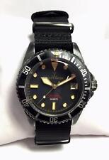 Orologio Toy Watch Vintage solo tempo nero - VI01BK - nuovo
