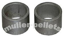 2 anelli di distanza per Koller ROLLER 230mm per pellet stampa per pp230 kl230 kj230
