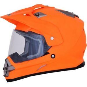 AFX FX-39 Dual Sport Full Face Helmet Street Motorcycle or Offroad Motocross