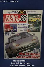 Rallye Racing 10/97 Volvo S40 T4 VW Golf Turbo Audi A3