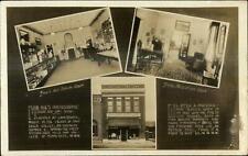 Lanesboro MN Photography Studio Bug's Photographic Studio Real Photo Postcard