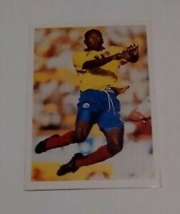 COLOMBIA NATIONAL FOOTBALL TEAM 1998 PG TIPS SOCCER STARS CARD # 6 ASPRILLA FA
