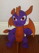 "2013 Skylanders Giants SPYRO Dragon 13"" Plush Stuffed Toy Activision"
