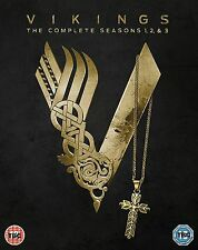 Vikings Complete Series Collection 1-3 DVD BoxSet Season 1 2 3  UK Release New