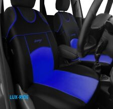 HONDA CIVIC CRV JAZZ FRONT SEAT COVERS VESTS T-SHIRTS ECO LEATHER HIGH QUALITY