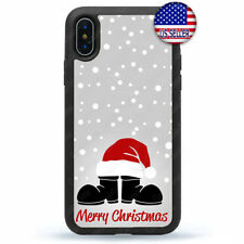 Christmas Santa Boot Hat Phone Case Cover For iPhone X Xs Max XR 8 7 6 Plus 5 4