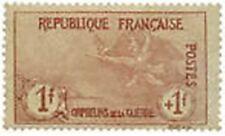 "FRANCE STAMP TIMBRE 154 "" ORPHELINS DE LA GUERRE 1 F + 1 F "" NEUF x TB"