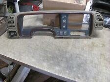 🔥 95-99 Chevy Silverado Gmc Woodgrain Dash Cluster Bezel W/Switches