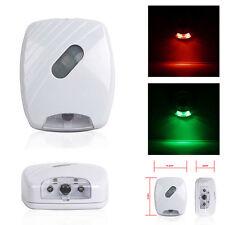 WC sensor movimiento LED inodoro Luz Bol Baño Lámpara Mesilla Asiento Bombilla
