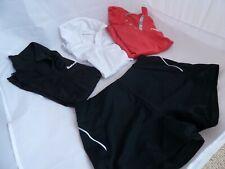 Bundle of Girls Tennis / Sport T-Shirts / Shorts 10-12 years - Wilson Babolat